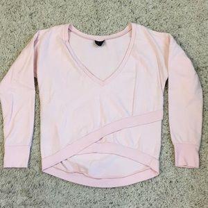 Splits59 faux wrap sweatshirt